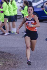 Aimee Holland Senior, Santa Rosa 5th NBL, 49th NCS D I, won 1 tri-meet