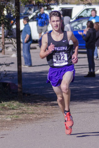 Jack Dunbar Sophomore, Petaluma 5th SCL, 21st NCD D III, won 1 tri-meet