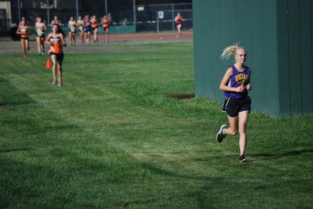 A Ukiah runner lead most of the race before the Panthers took the top six spots.