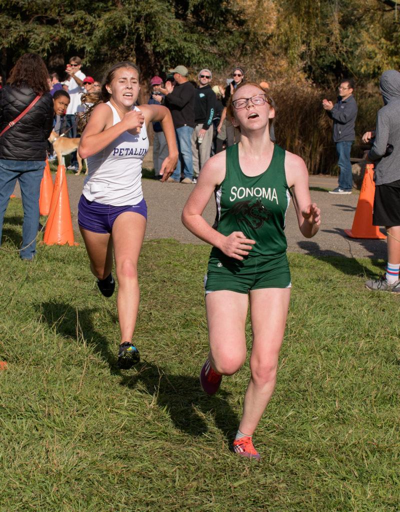 6th Aliya Blinman in 20:10 7th Camille Flynn in 20:11