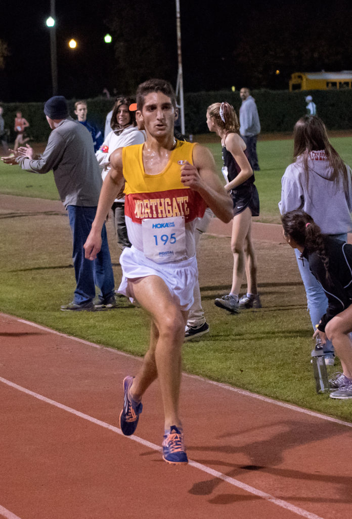 Fourth - Omar Kabbani - Senior - Northgate - 9:49.1